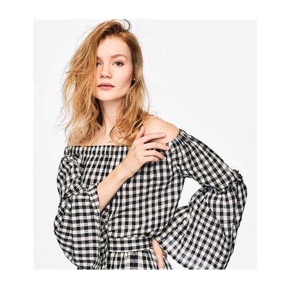 e49ed01d5cb who what wear Tops | Gingham Off The Shoulder Top | Poshmark